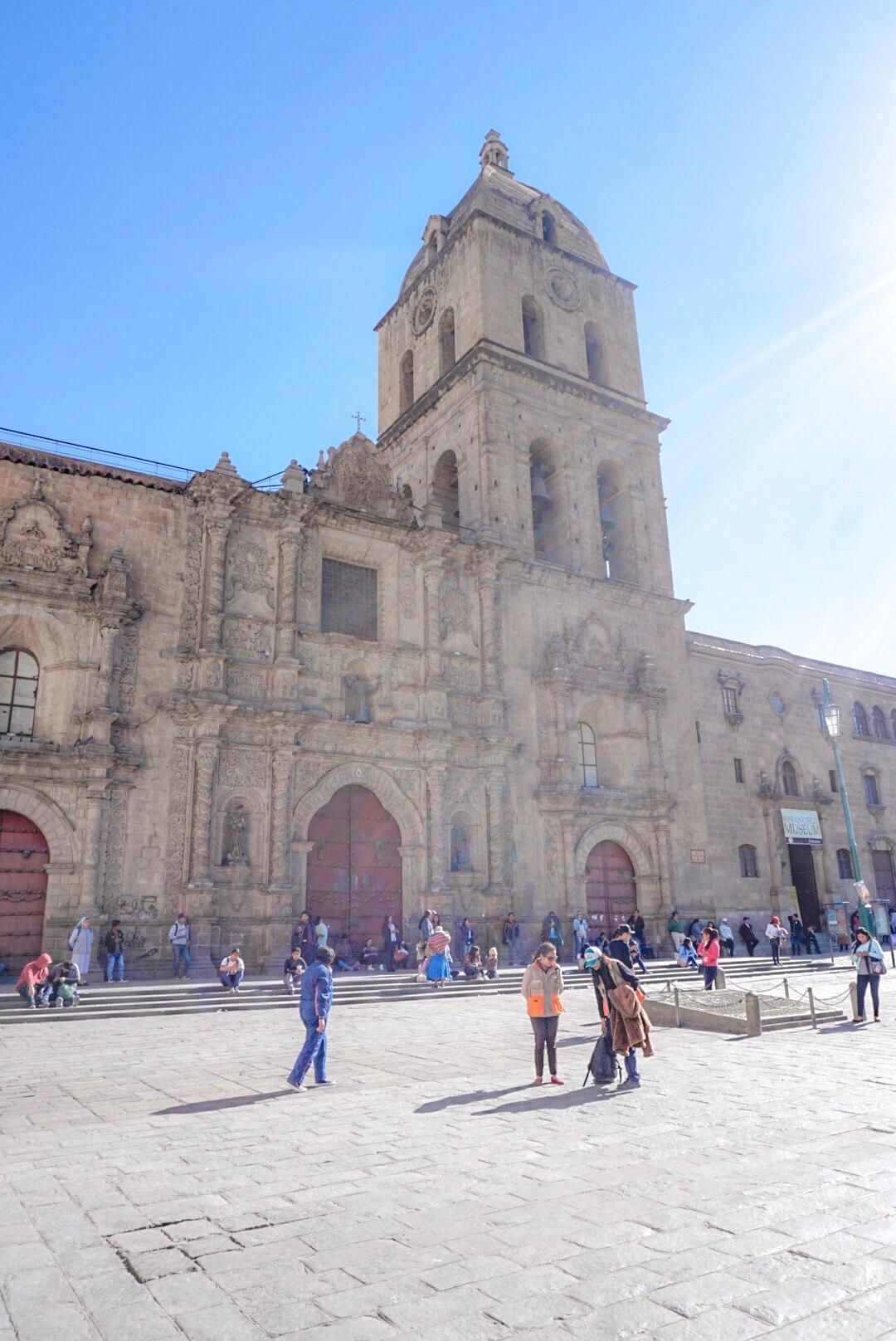 Visiter eglise la paz bolivie