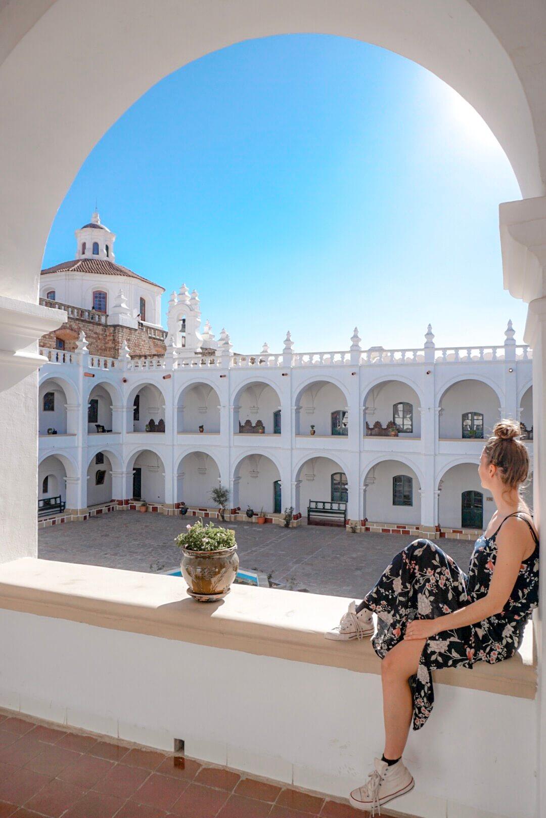 visiter couvent iglesia san felipe de neri sucre bolivie