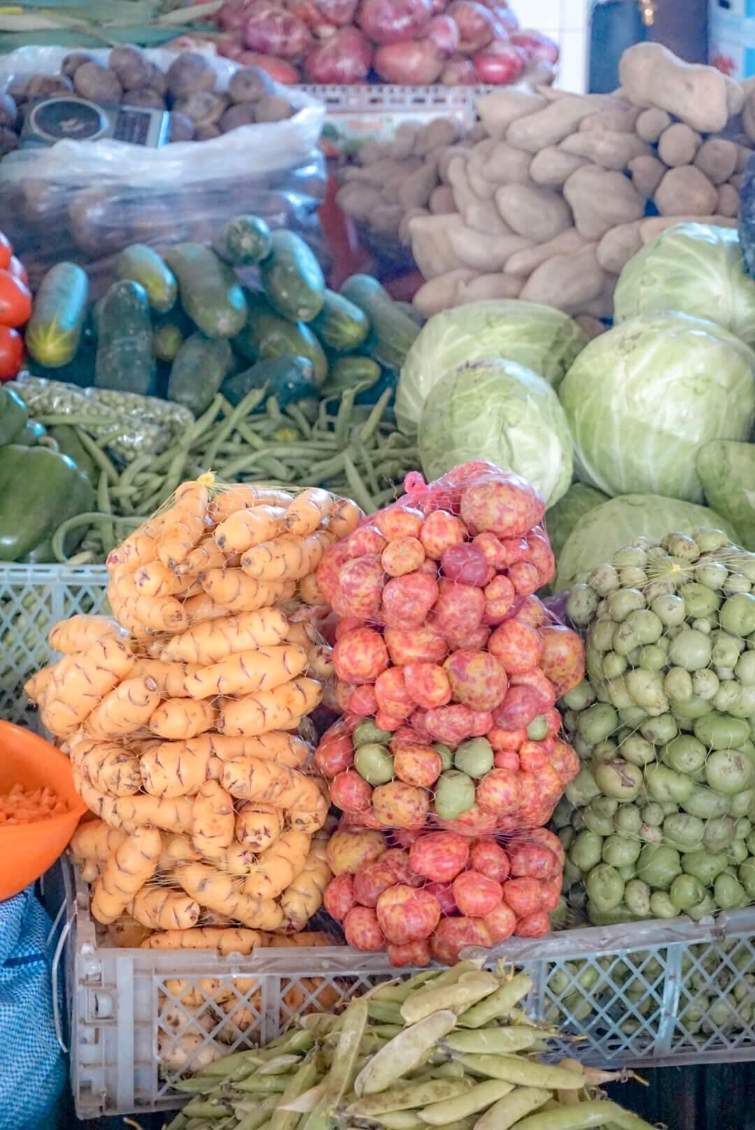mercado central sucre bolivie