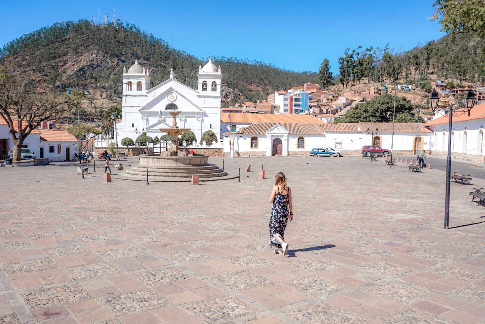 place de la recoleta sucre bolivie
