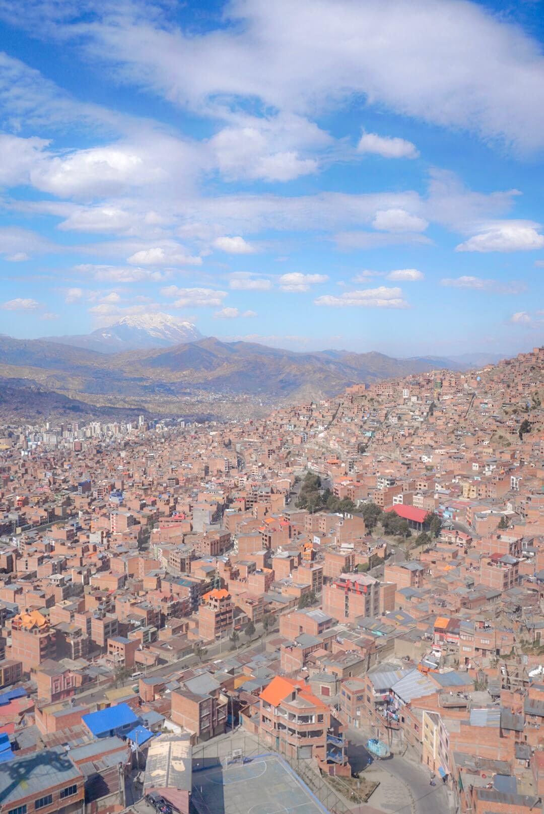 téléphérique la paz bolivie el alto