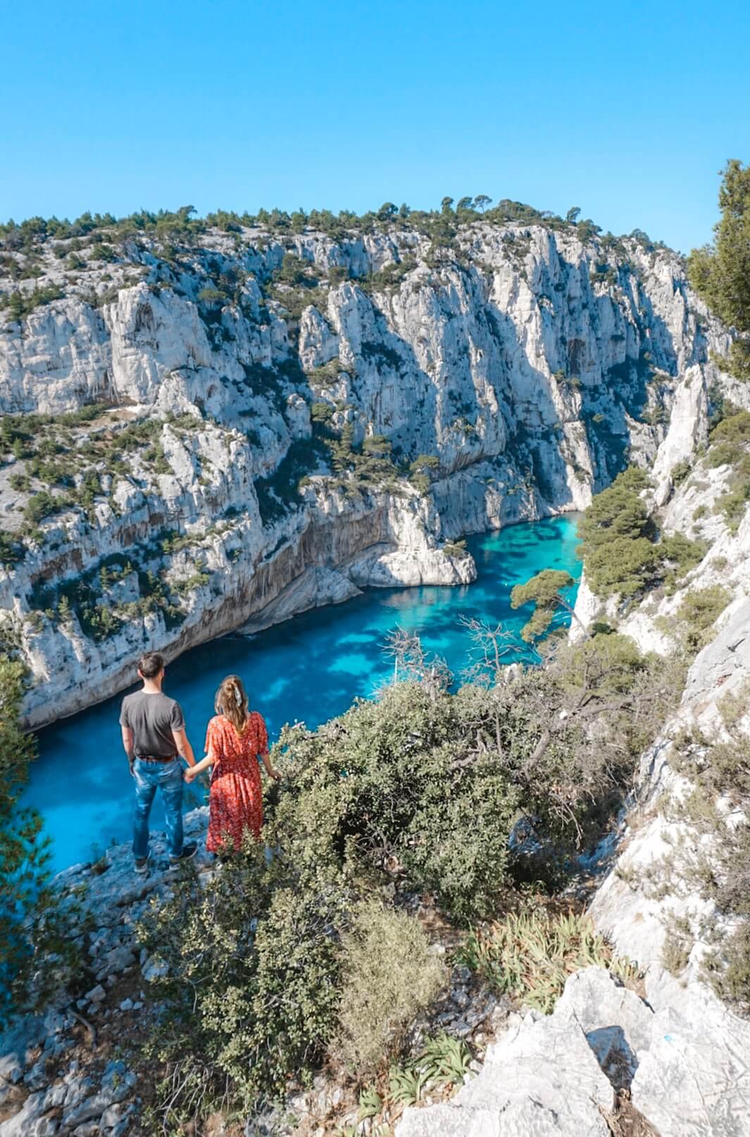 Voir la plus belle calanque du sud de la France