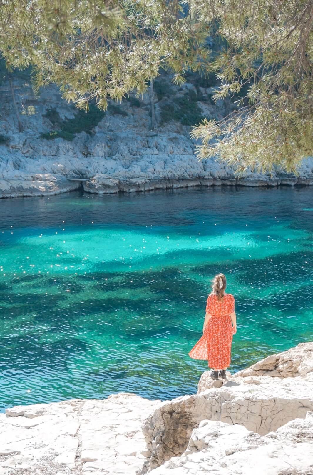 Se baigner dans les Calanques Cassis