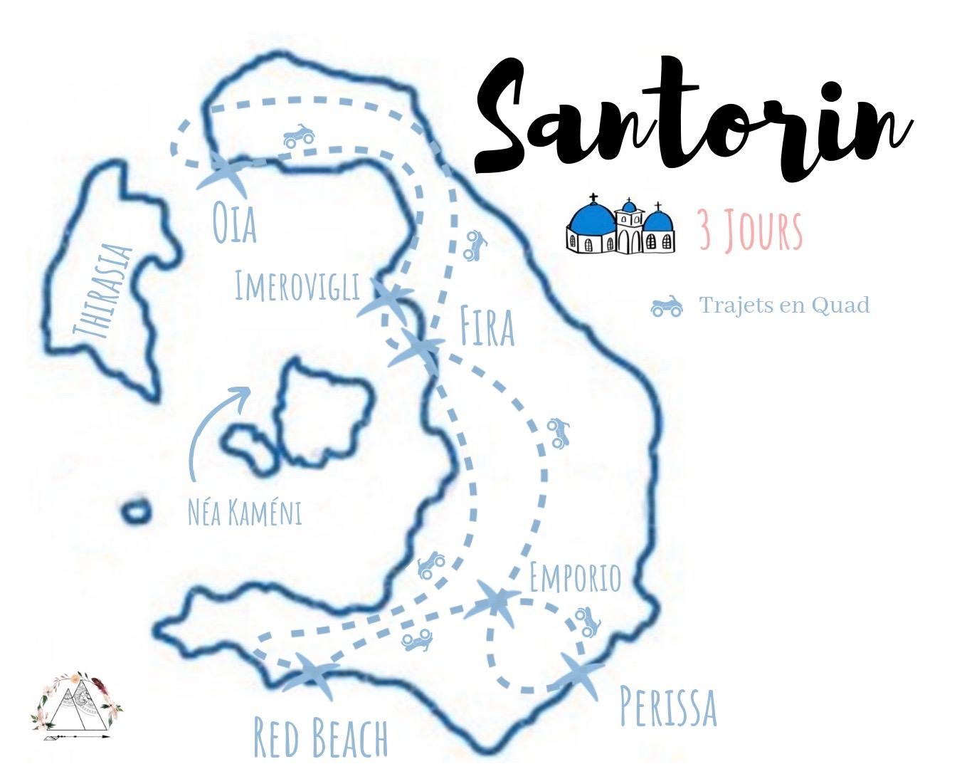 visiter santorin en quad