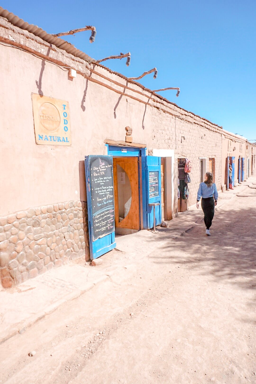 visiter les rues de san pedro de atacama chili voyage blog
