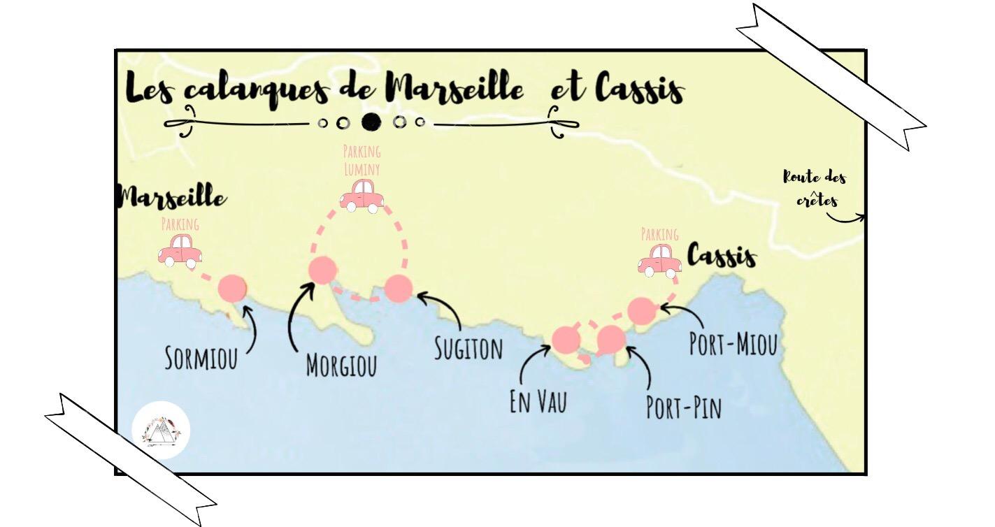 Les plus belles Calanques entre Cassis et Marseille