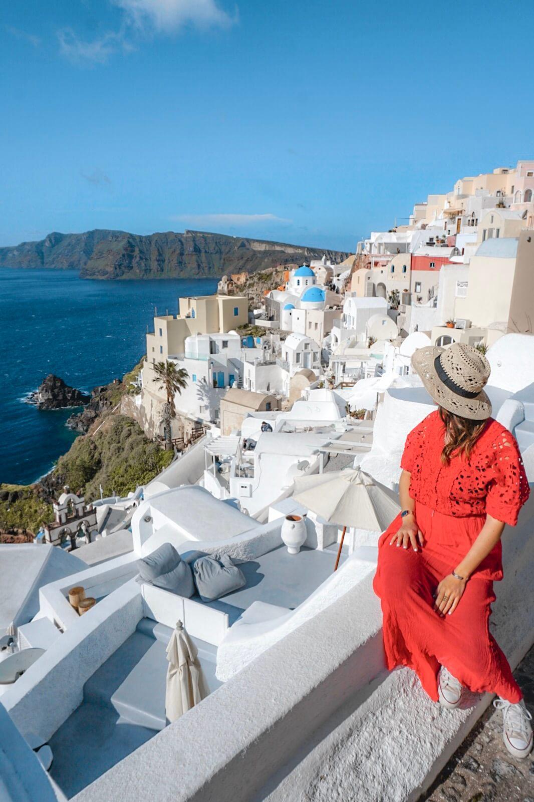 Oia Santorin blog de voyage