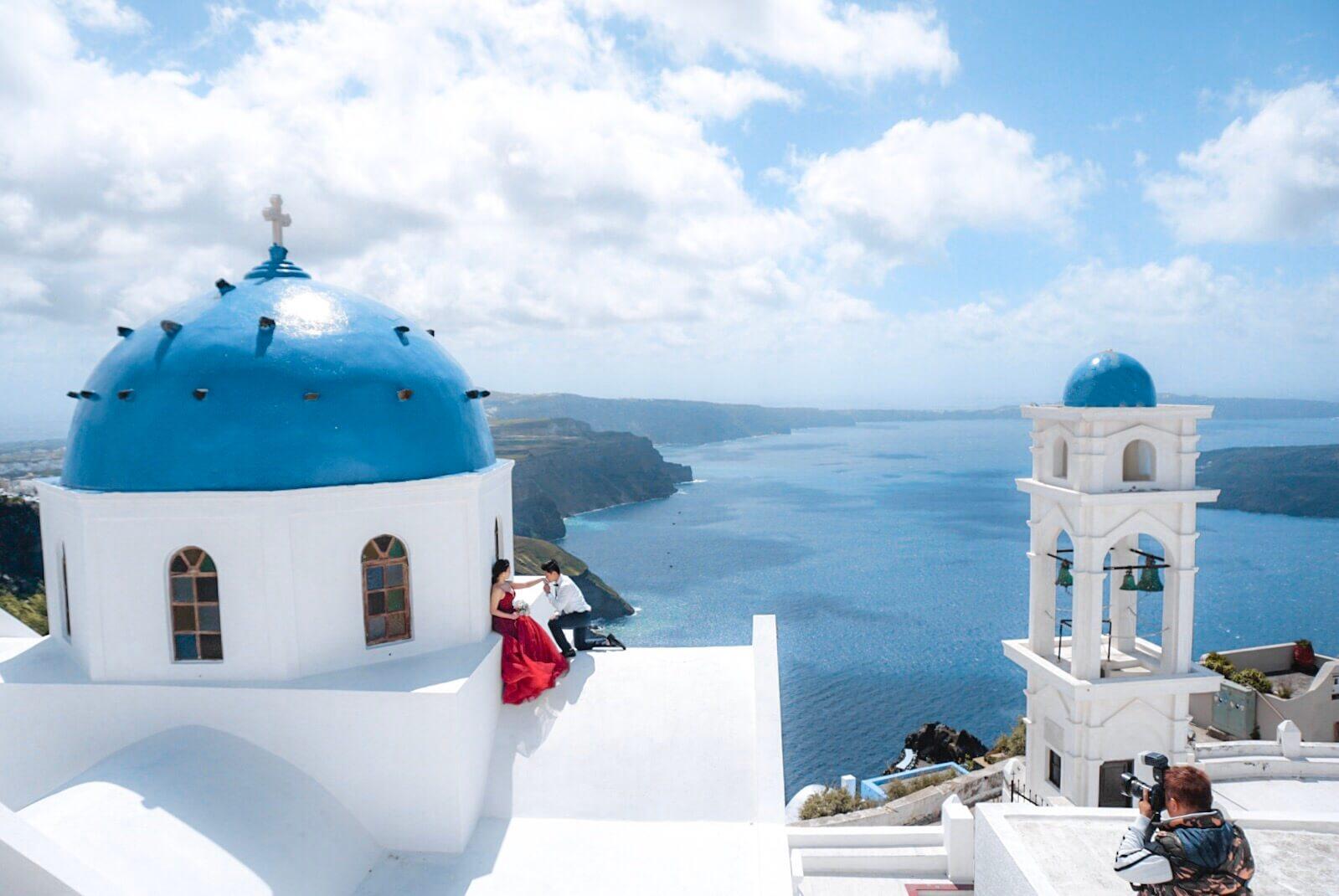 Santorin blog voyage