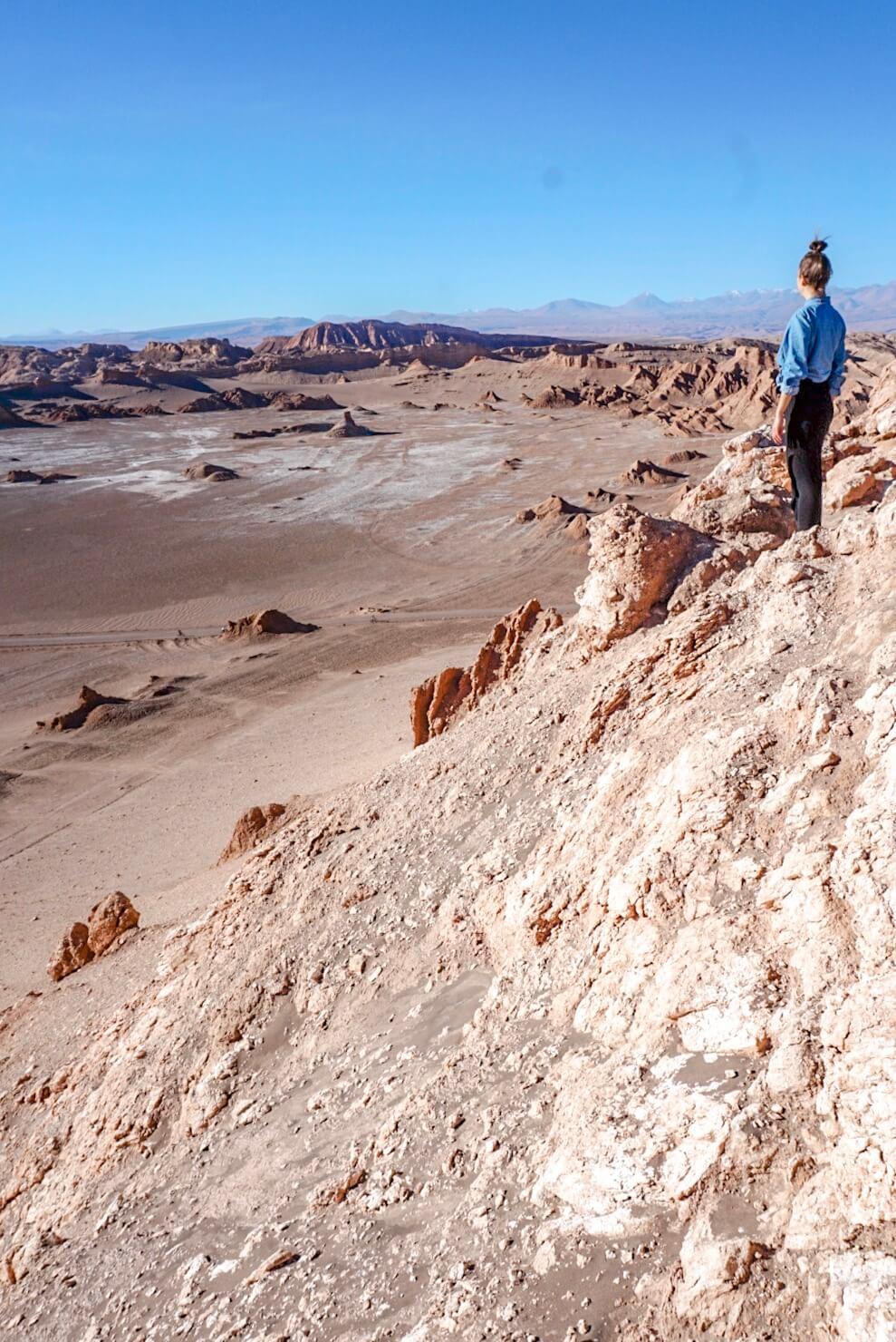 Vallée de la luna chili blog voyage