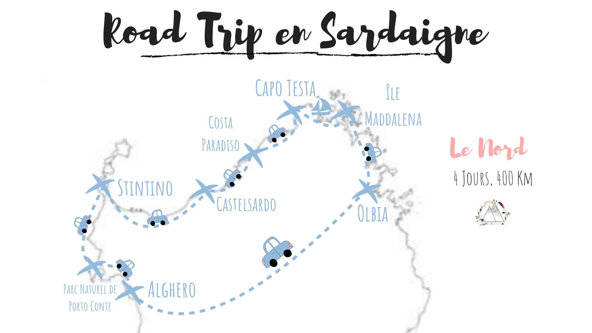 nord sardaigne road trip