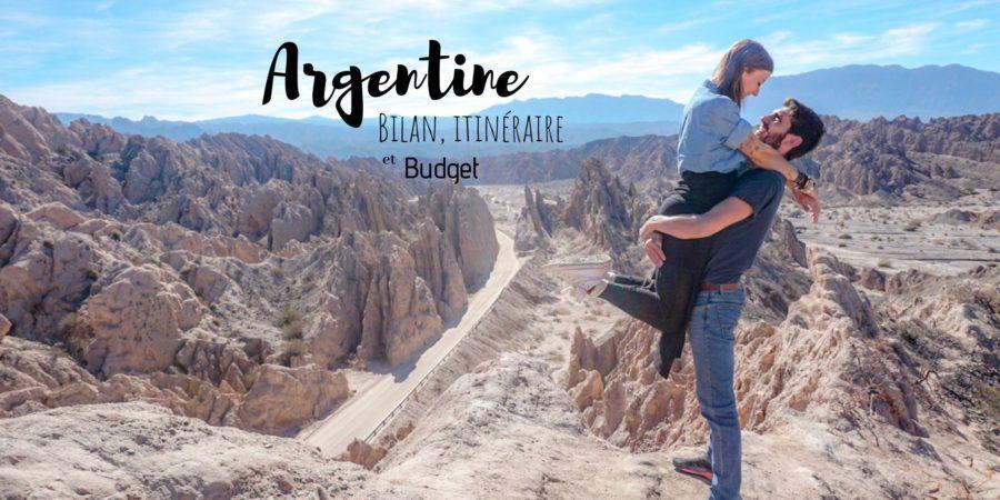 itinéraire budget et bilan voyage argentine