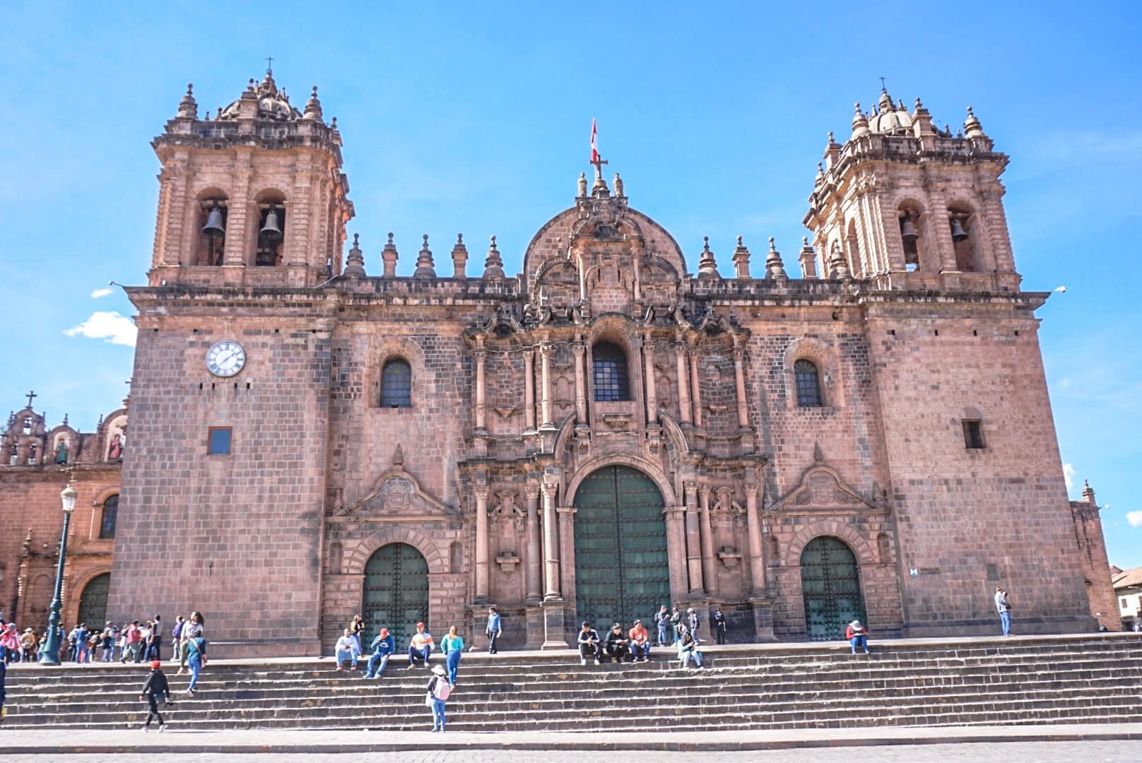 cathédrale cusco pérou blog