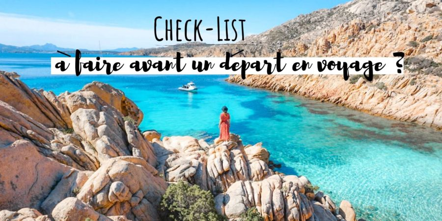 check list rien oublier voyage