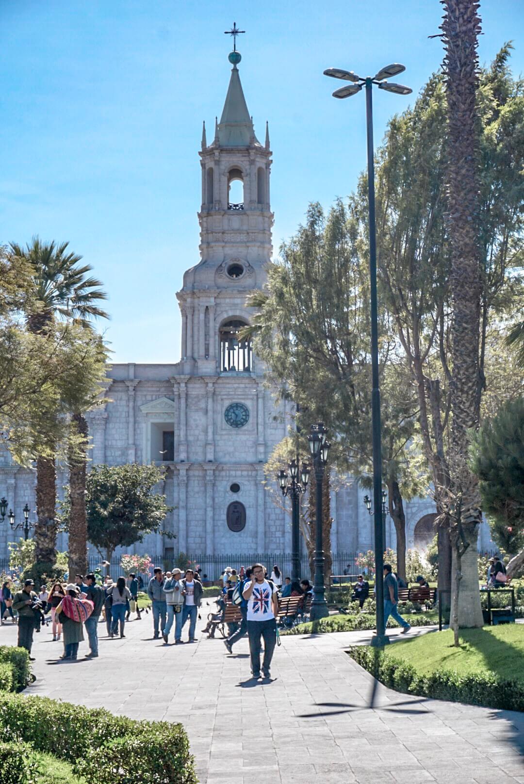 Plaza de Armas Arequipa pérou A voir