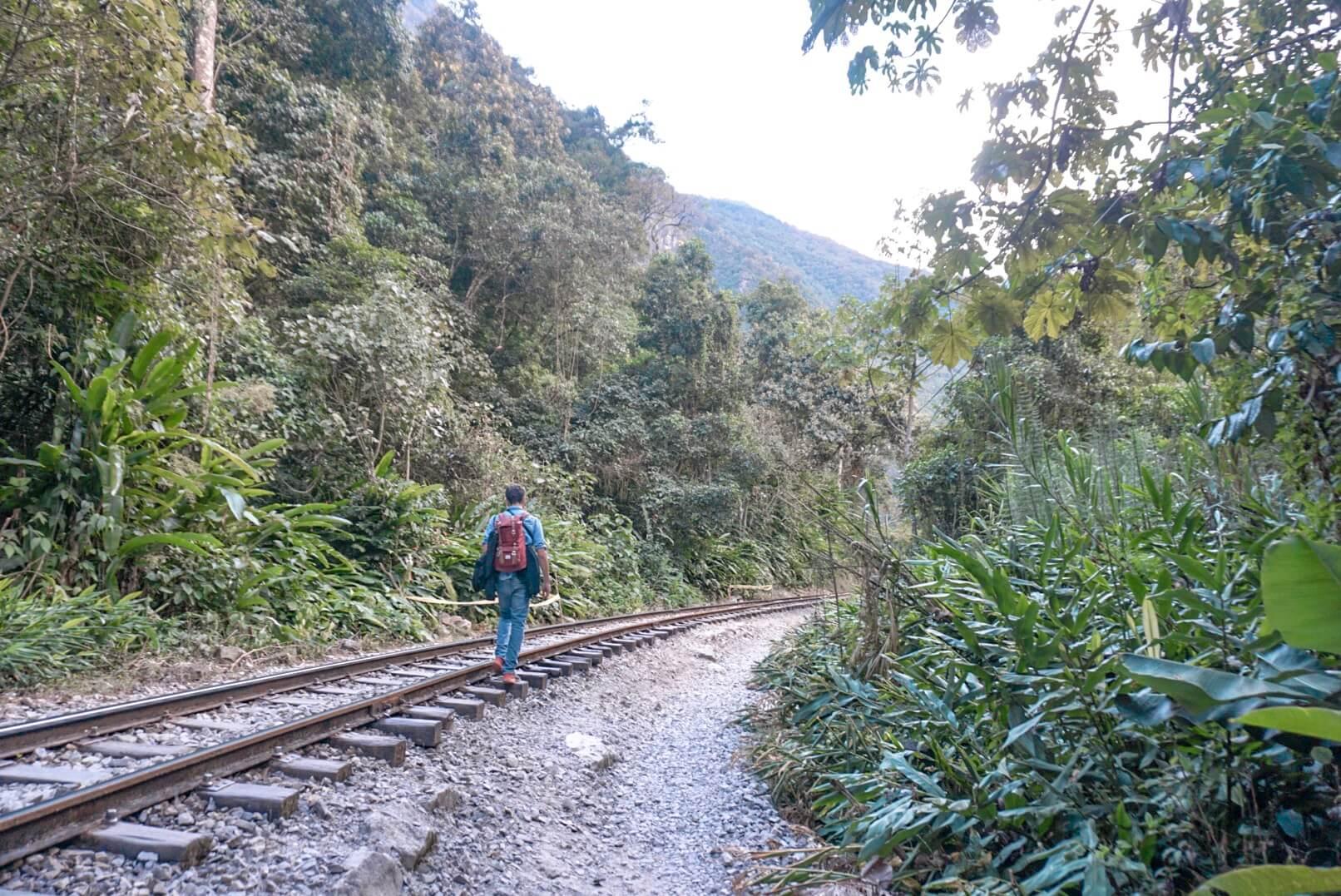 randonnée machu picchu hidroelectrica