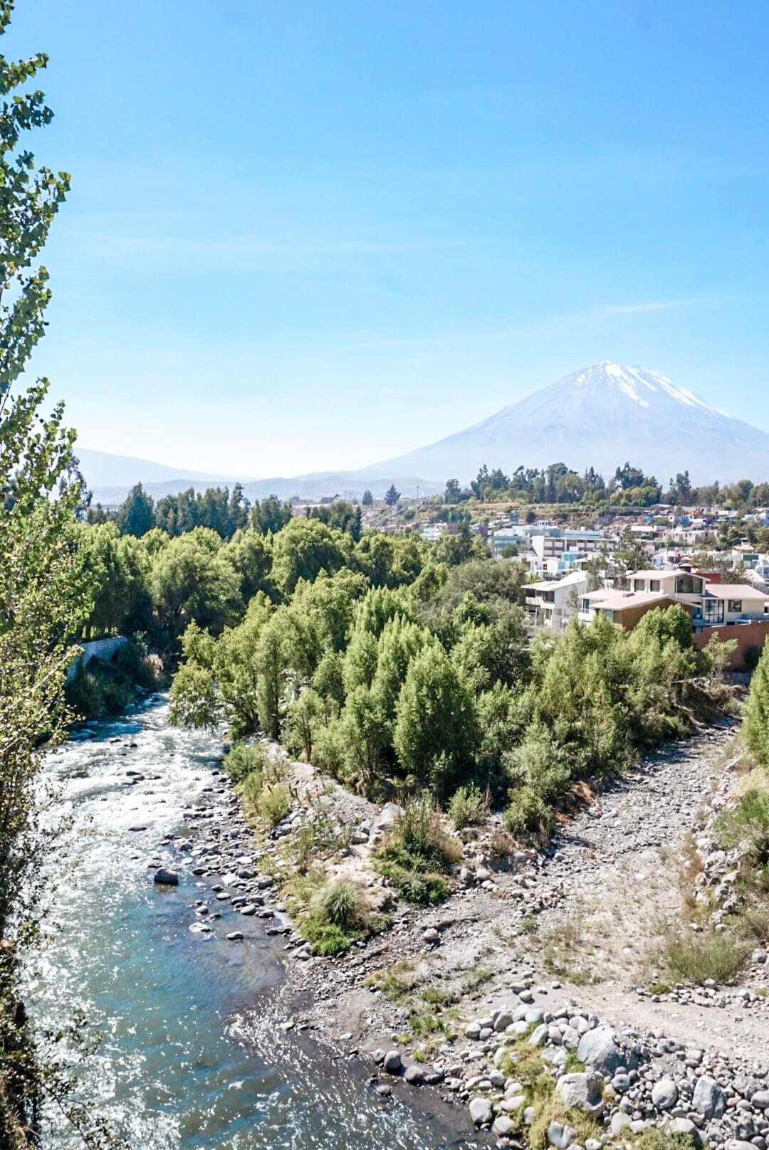 Volcan Arequipa Pérou