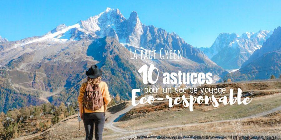 astuces eco responsables sac voyage blog