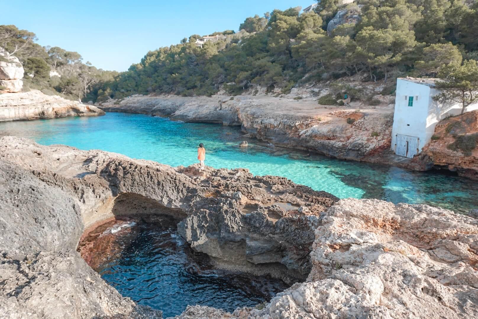 cala s'almunia majorque blog voyage