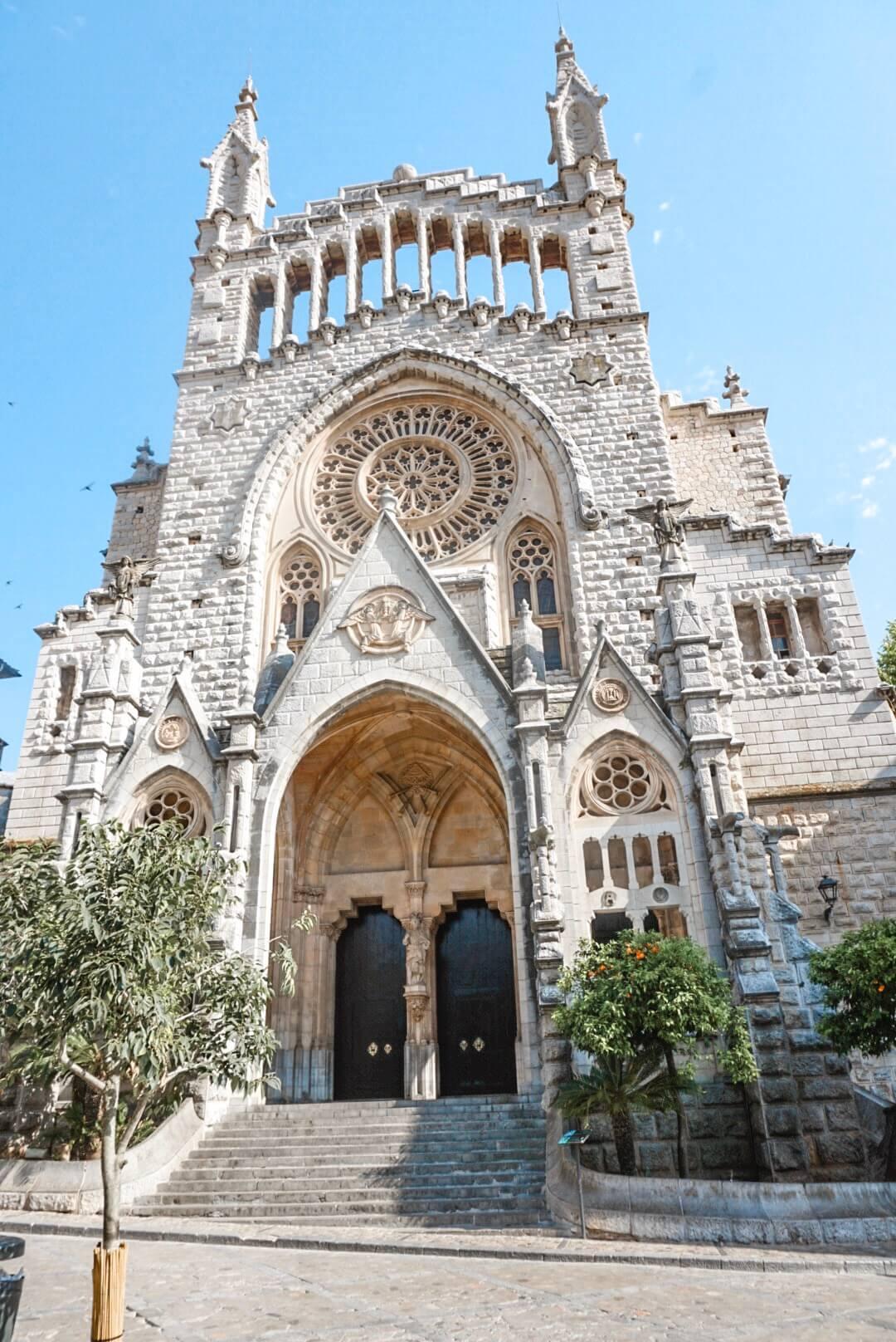 visiter cathédrale place soller majorque