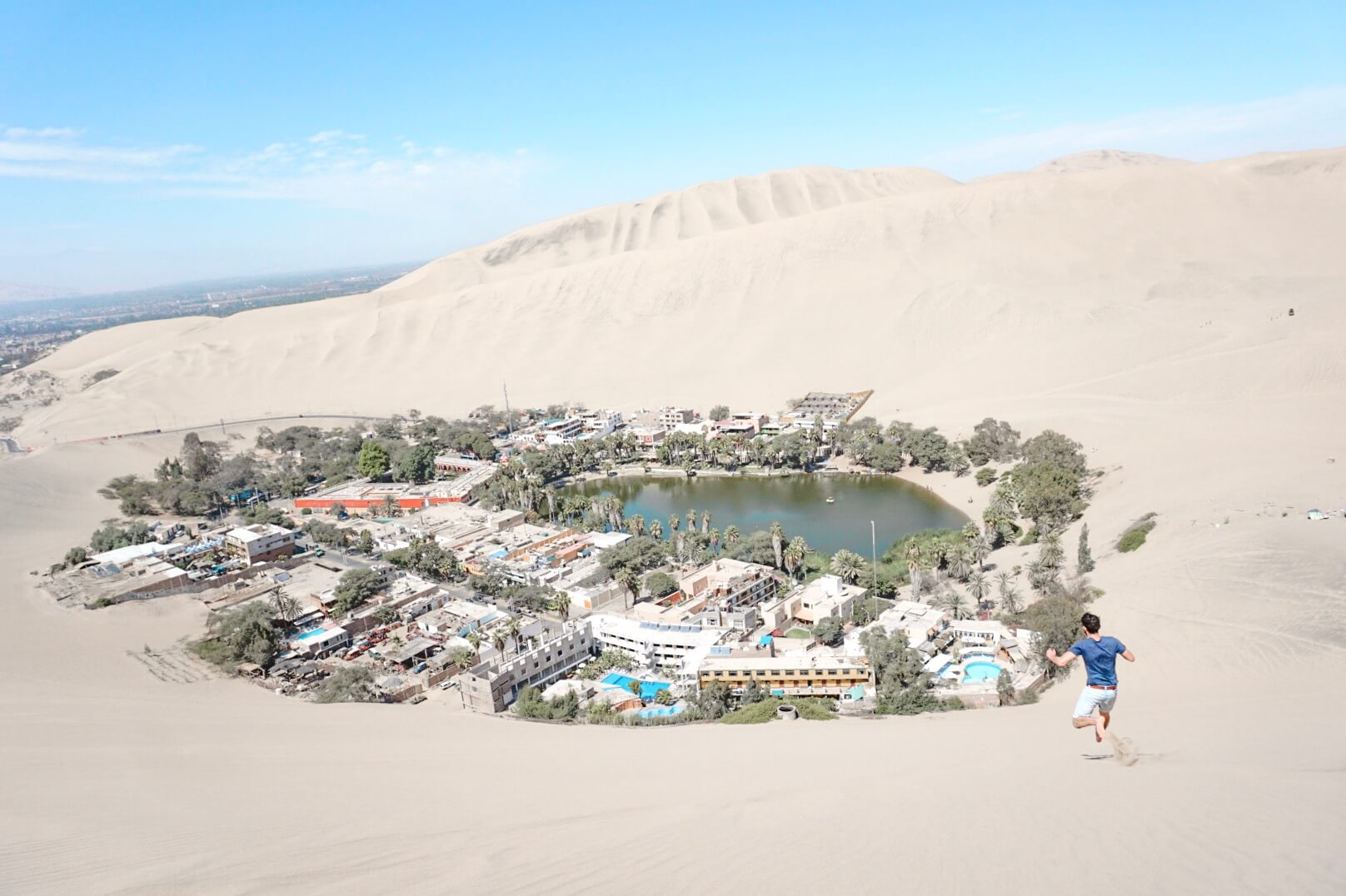 comment se rendre à huacachina