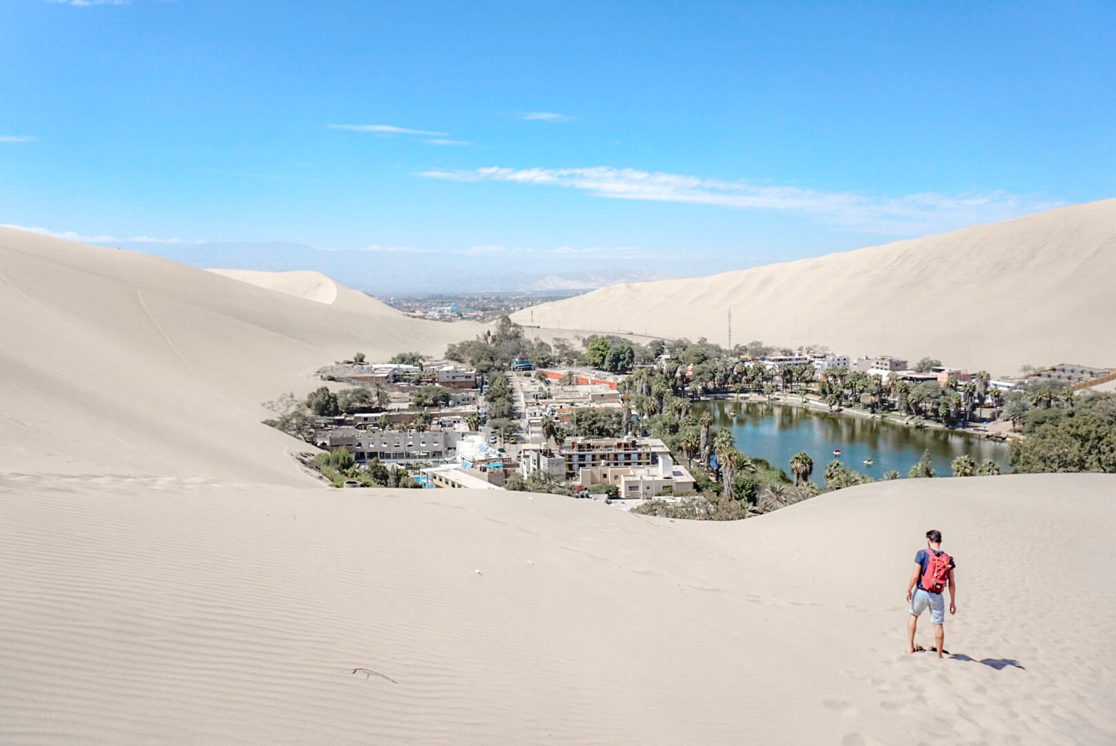 comment aller huacachina oasis pérou