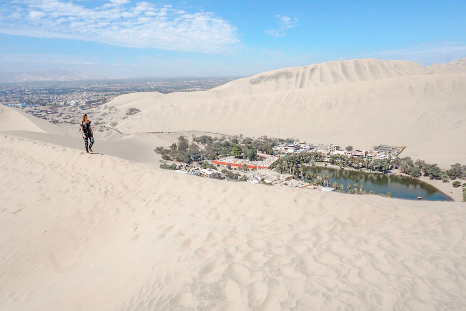 huacachina oasis pérou voyage