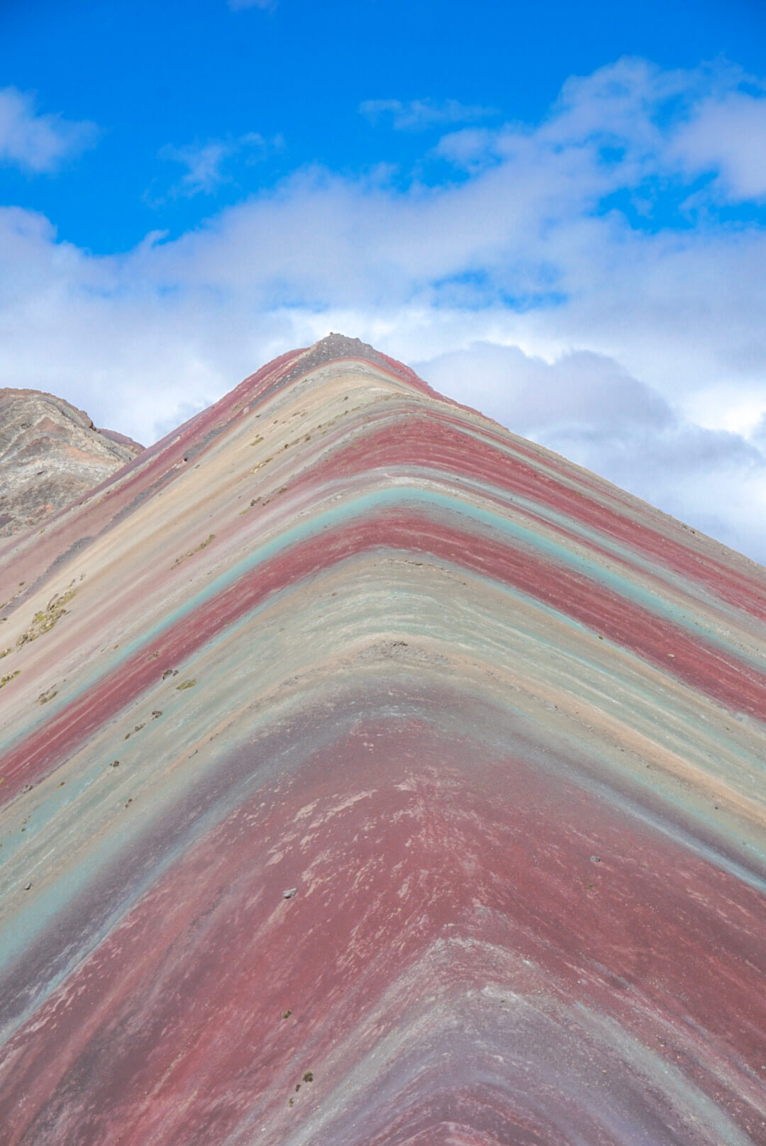 aller visiter rainbow mountain