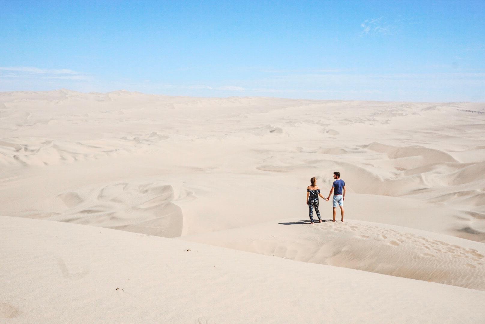 dune du désert péruviens huacachina