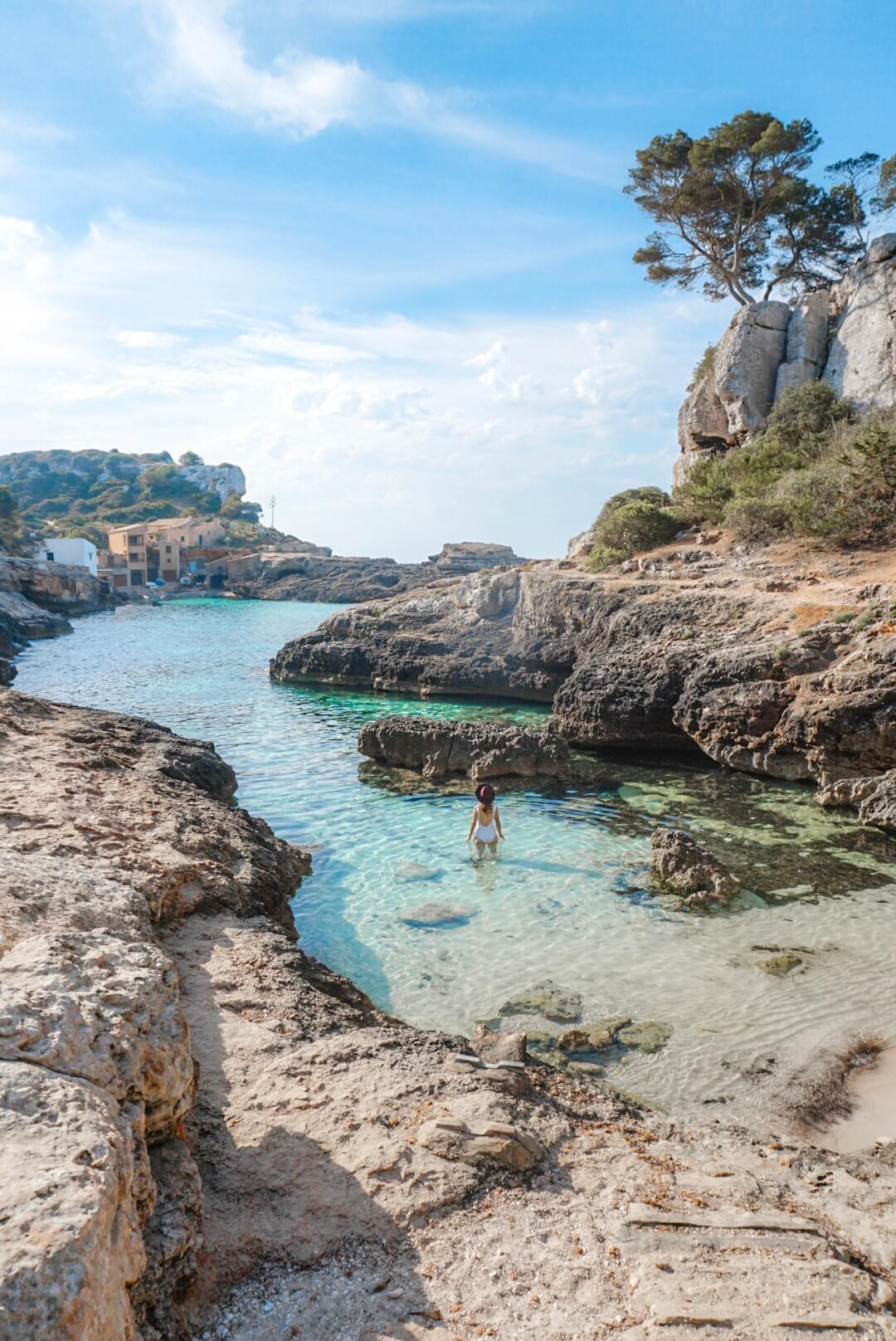 voyage majorque cala s'almunia blog