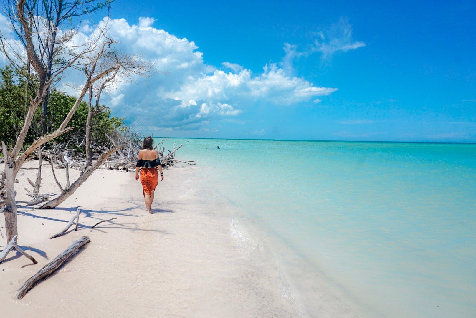 plage paradisiaque de cuba