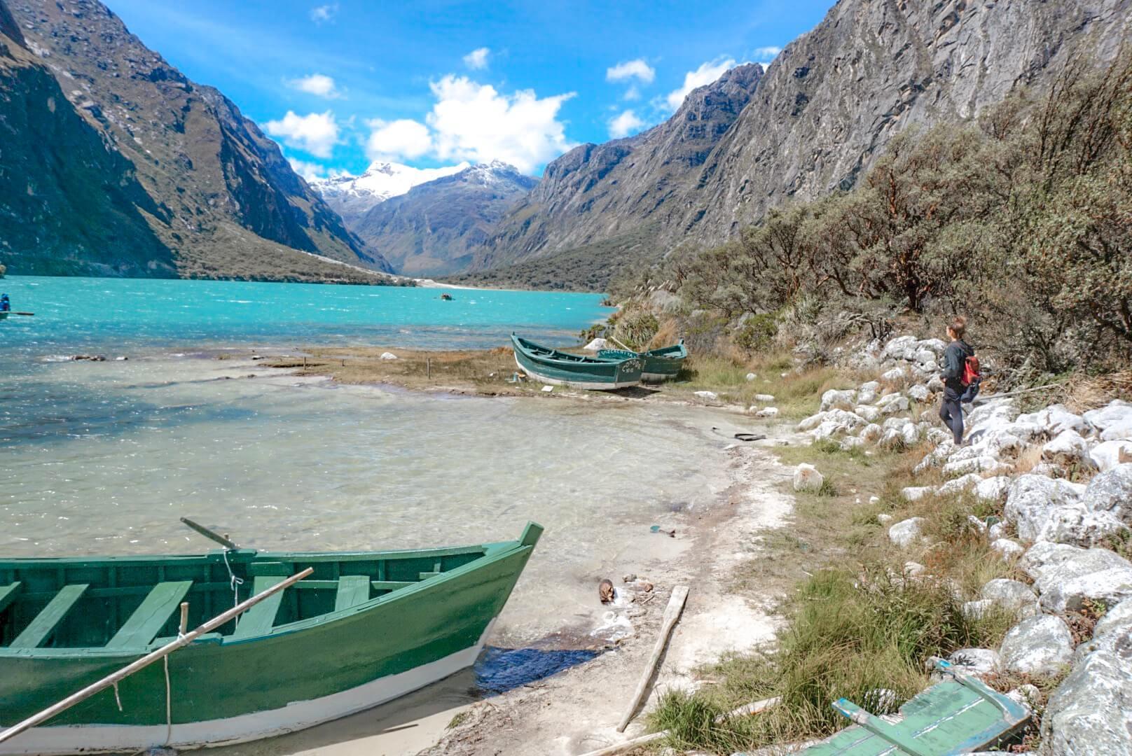 excursion pour visiter laguna llanganuco