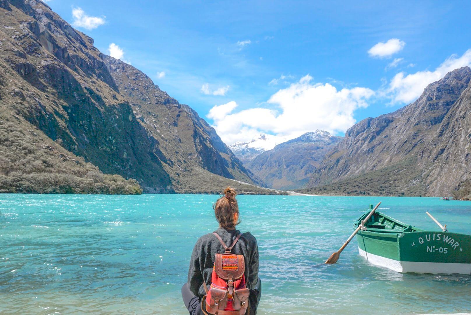 visiter laguna llanganuco