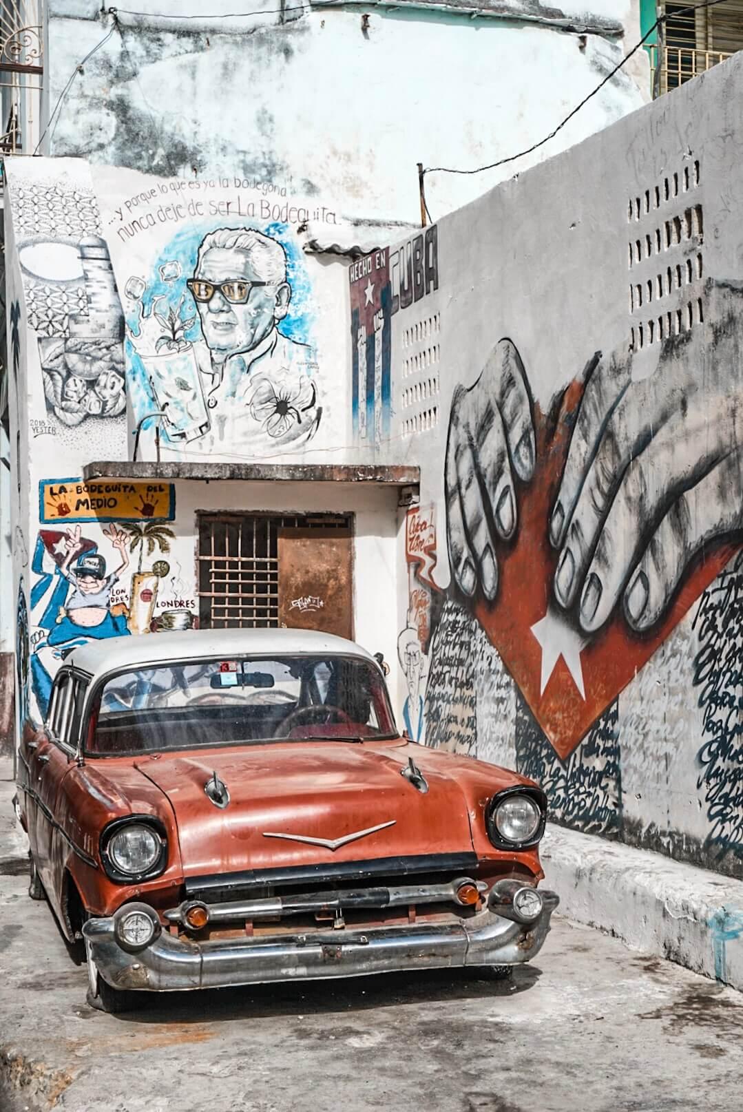 vieille voiture américiane cuba