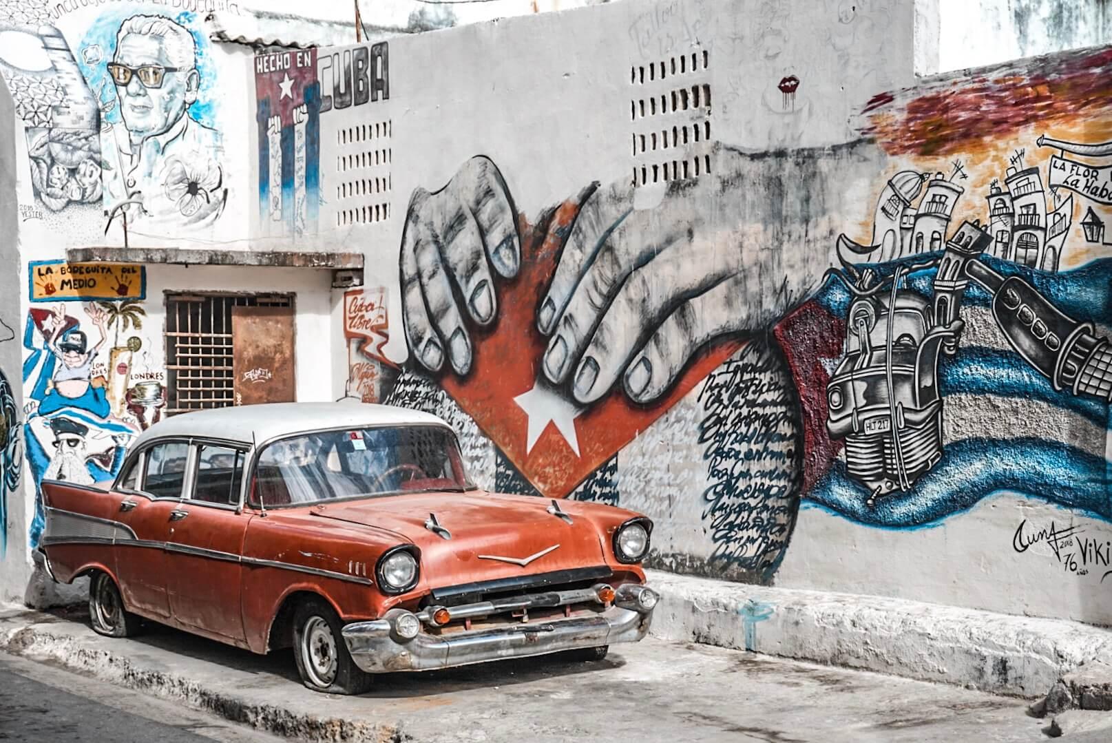 voitures américaine cuba