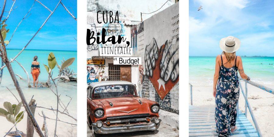 itinéraire budget voyage cuba 3 semaine