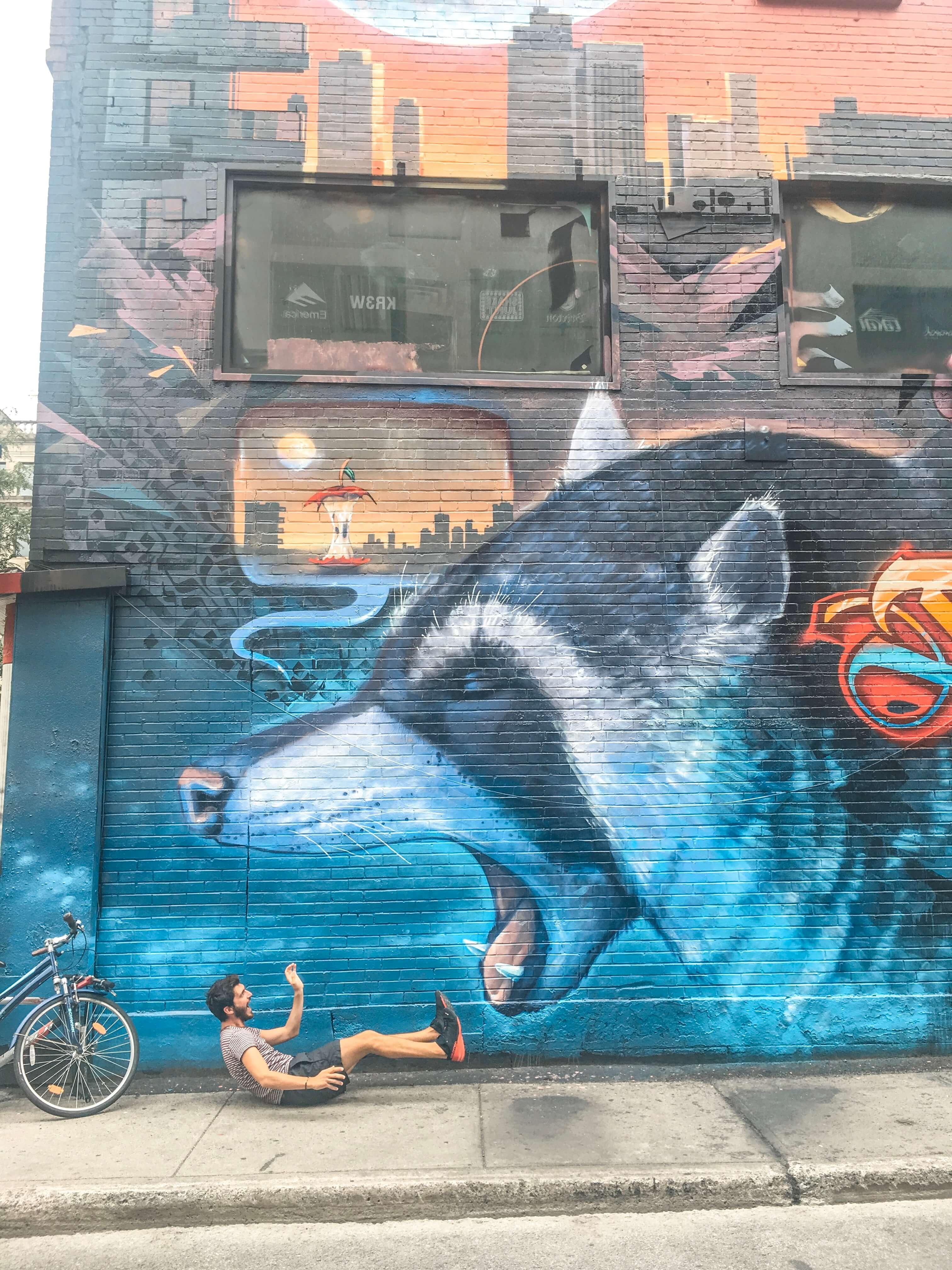 street art montreal tags ou voir