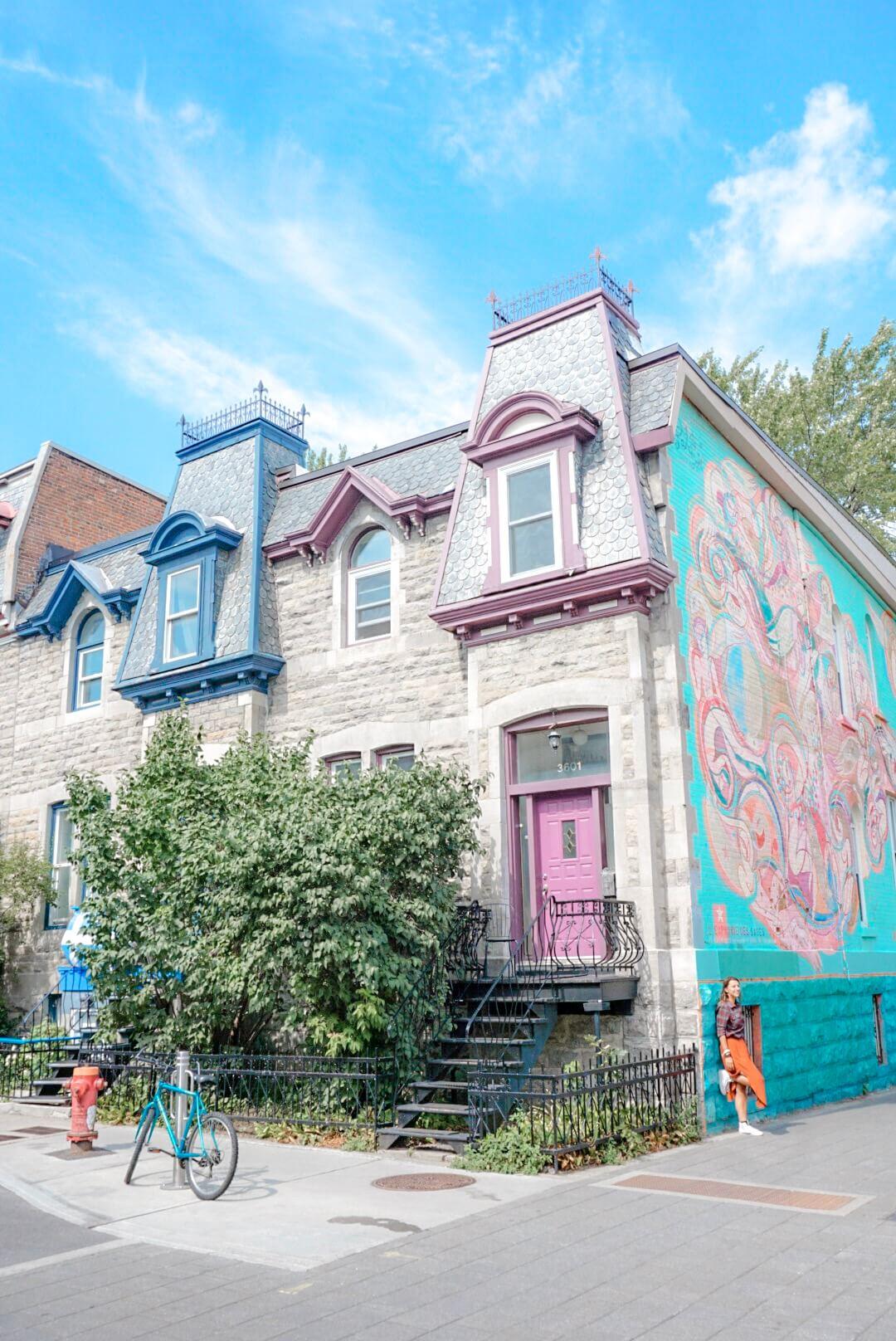 quartier mont royal street art blog quebec