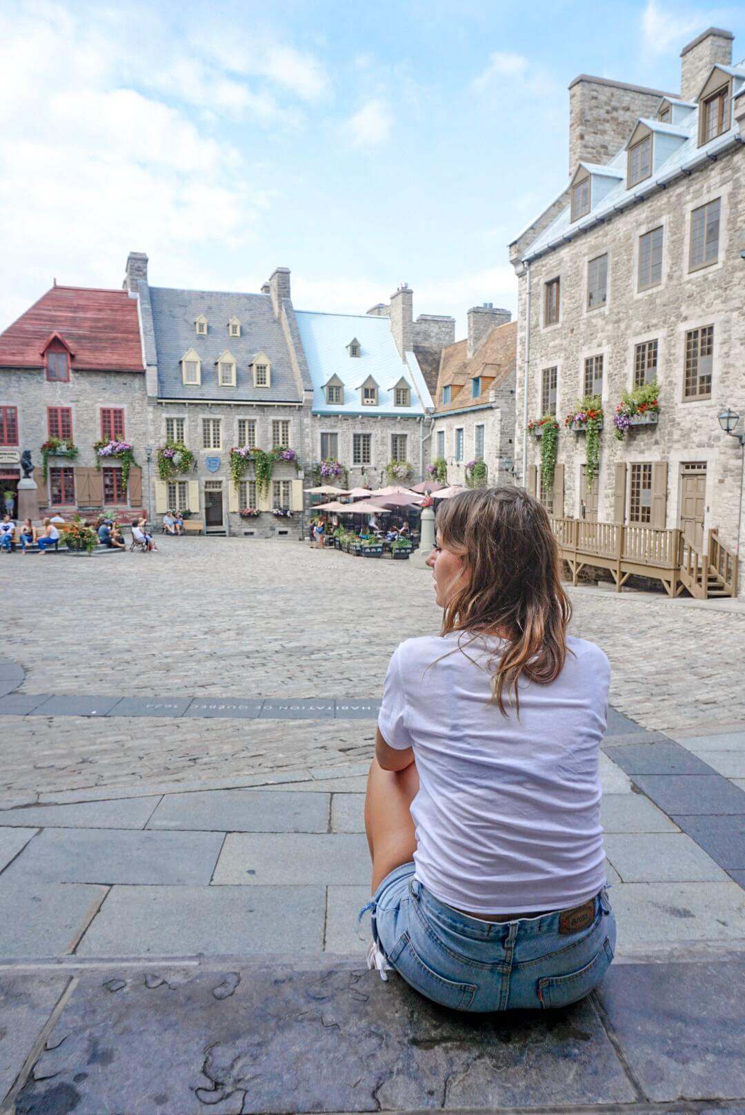 vieille ville quartier champlain quebec