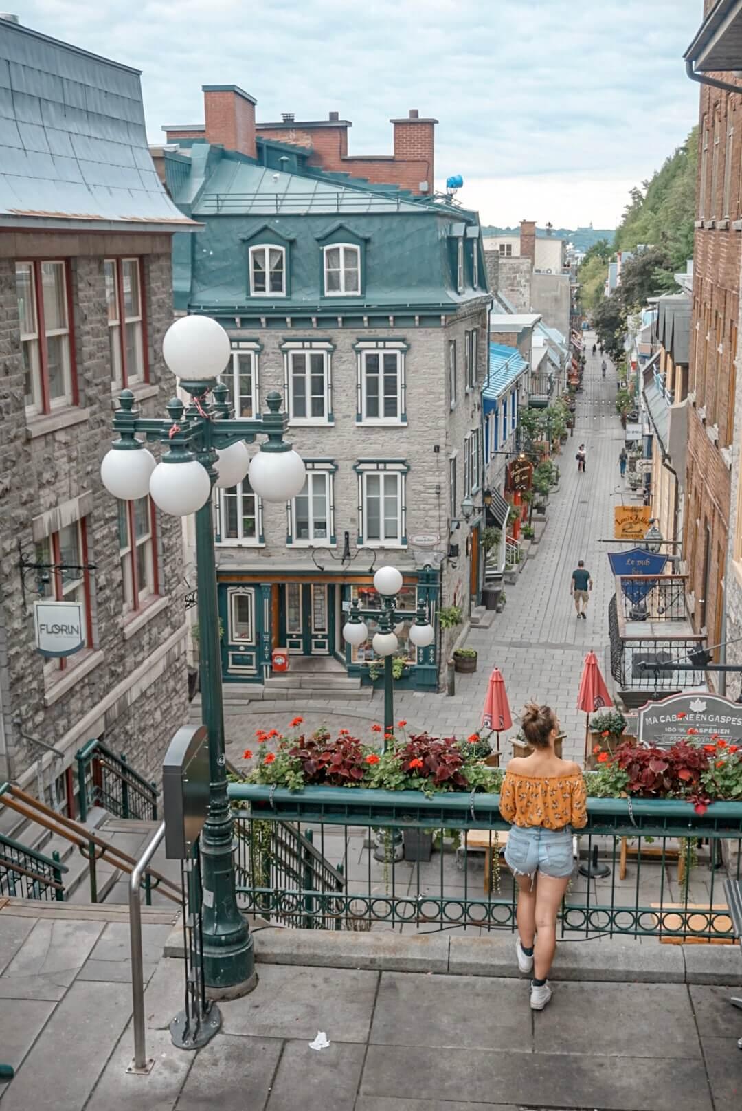 visiter rue du petit champlain blog