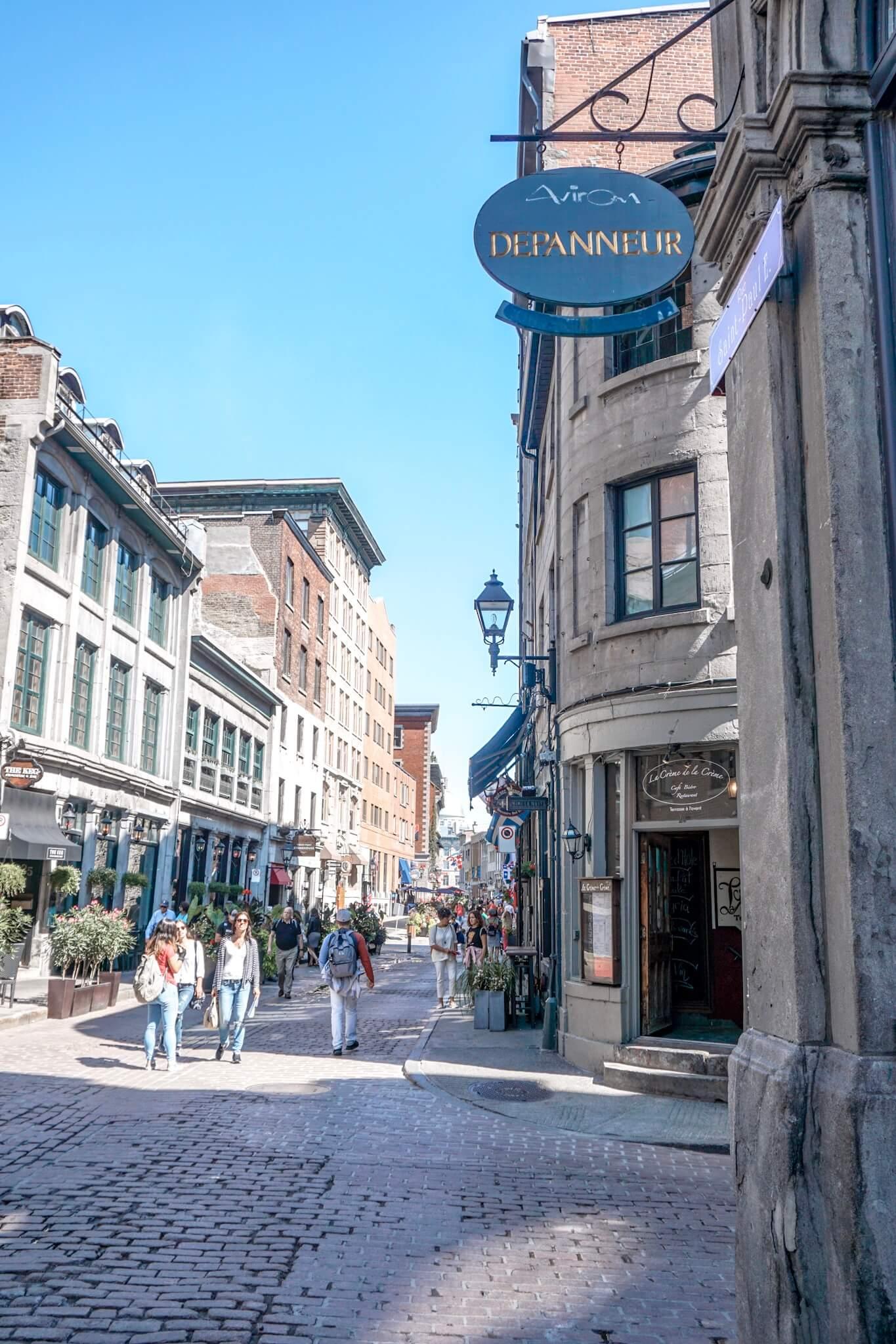 Visiter le vieux montreal canada blog