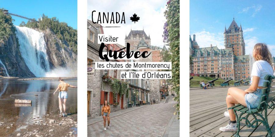 quoi visiter quebec montmorency ile orleans canada
