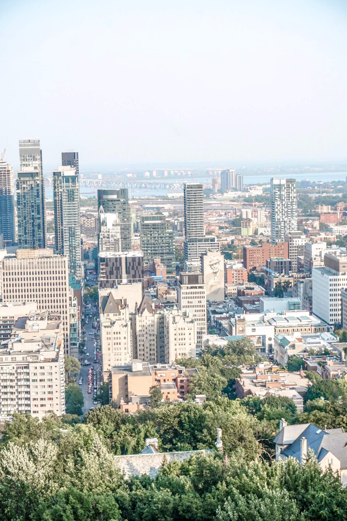 point de vue parc mont royal montreal