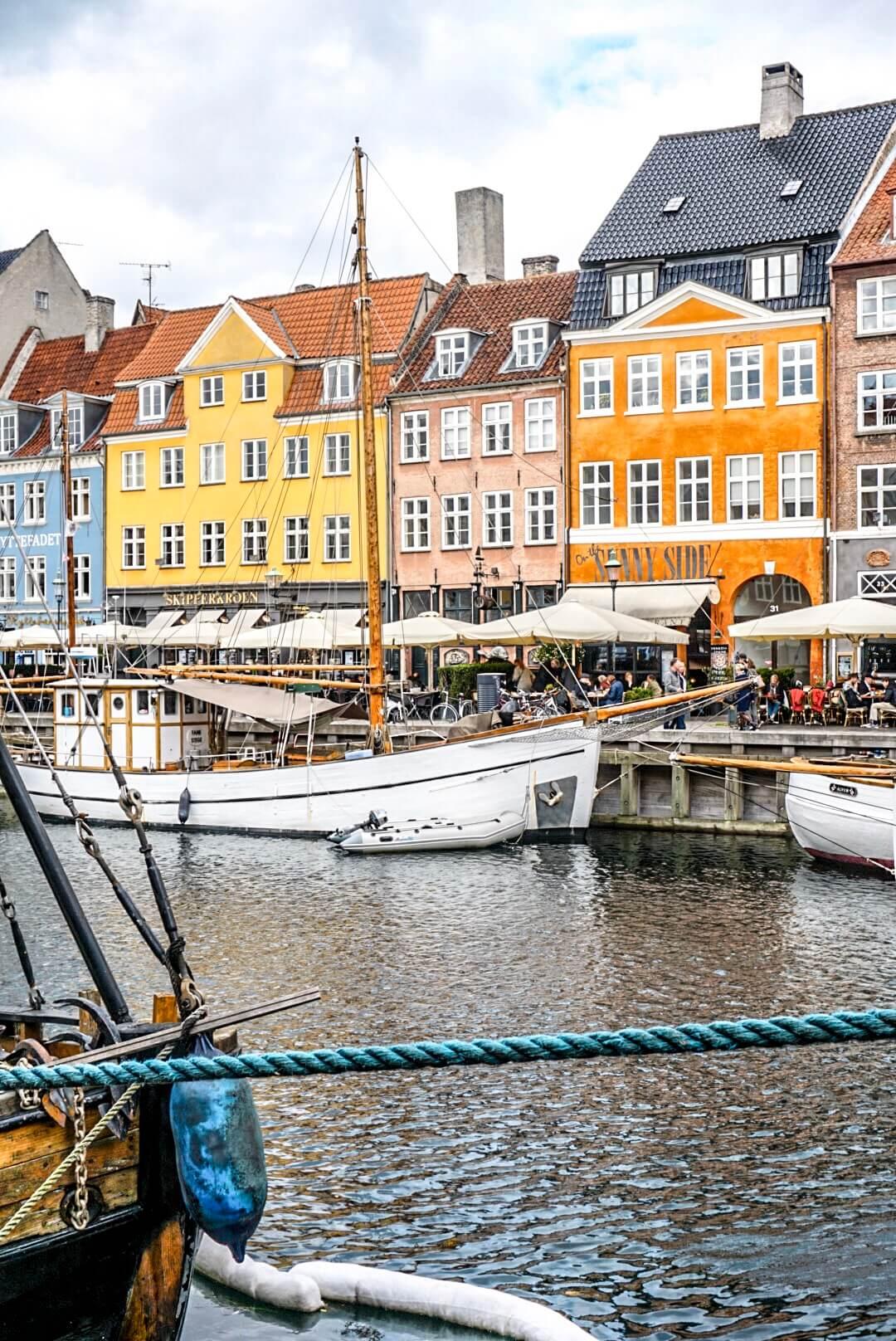 visiter maisons colorées quai copenhague vieux port
