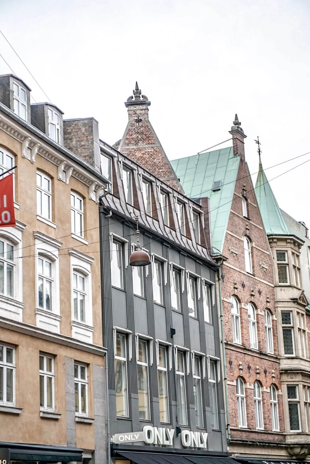 maisons colorées copenhague danemark architecture weekend