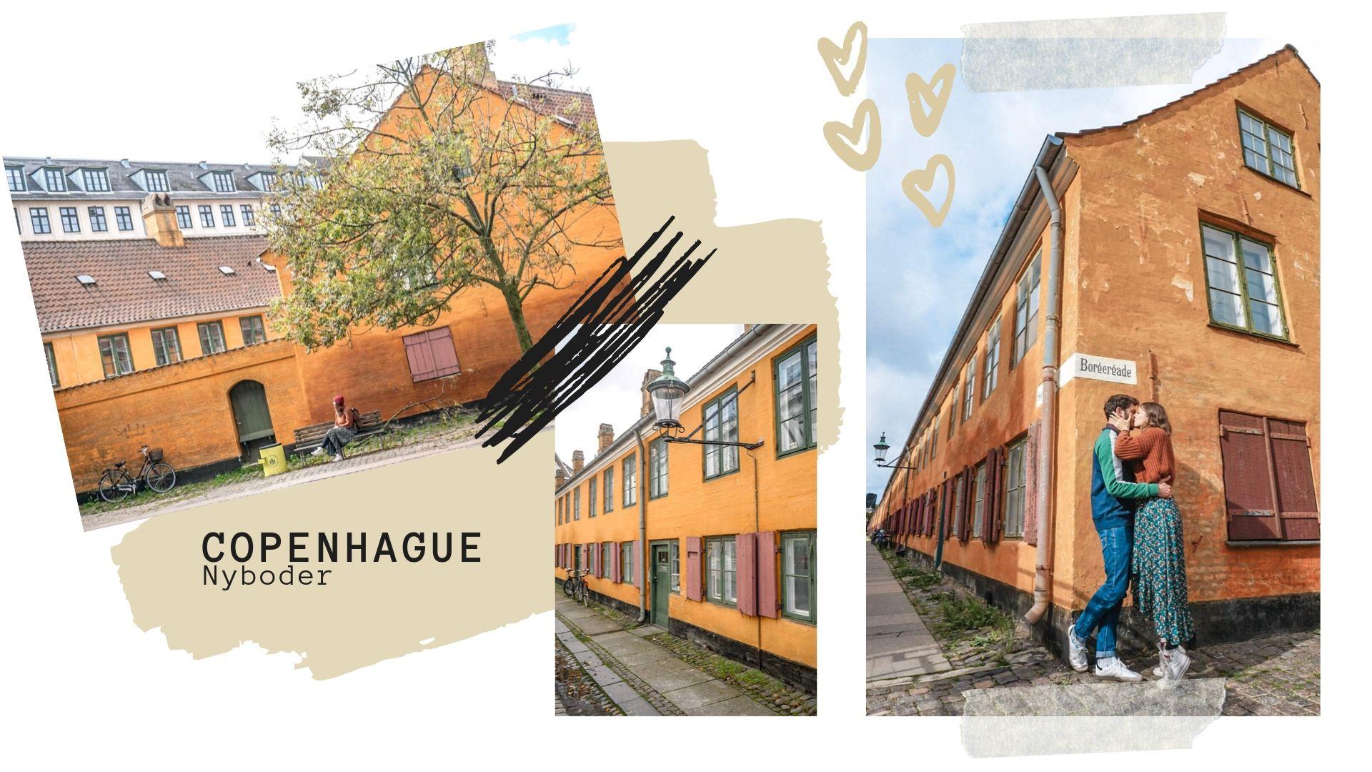 Visiter quartier Nyboder copenhague