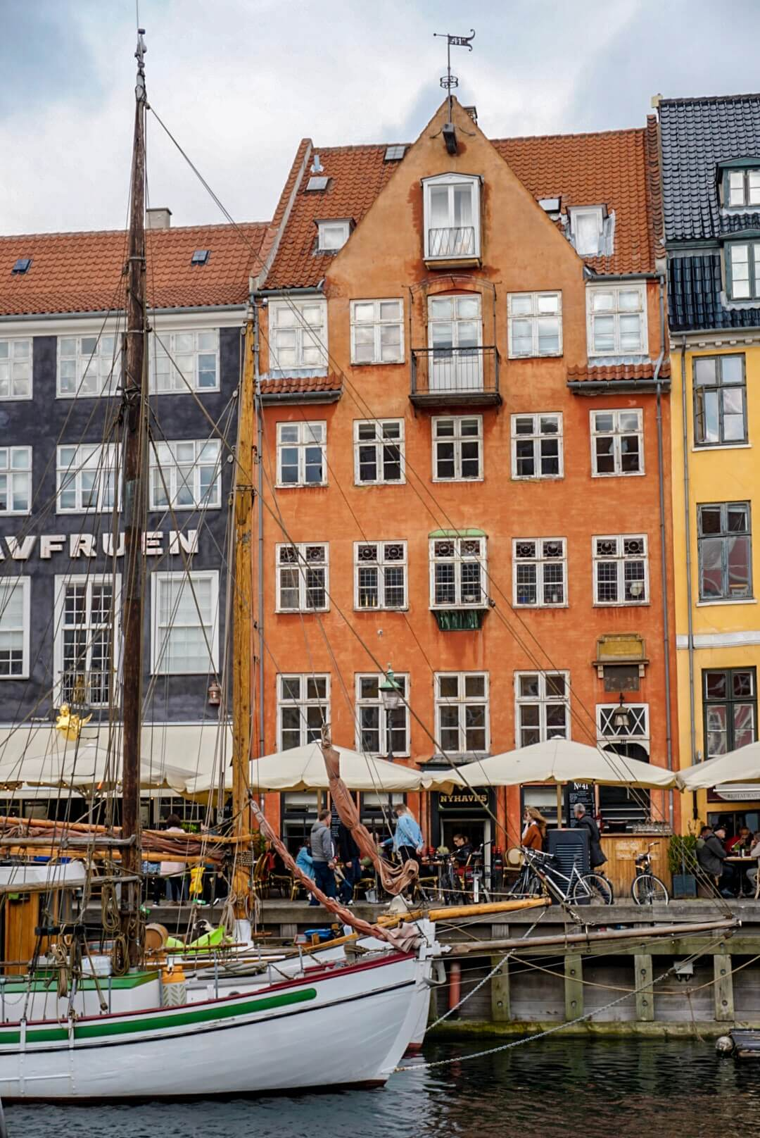 Vieux port nyhavn copenhague blog voyage