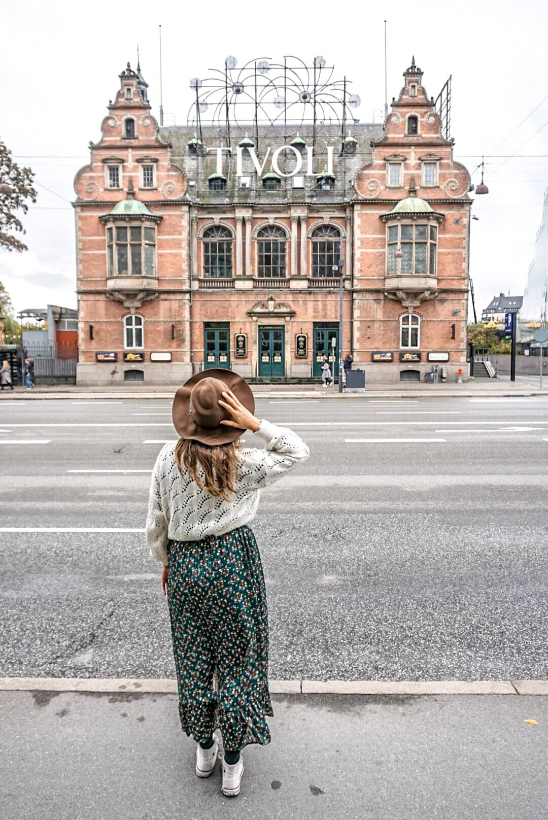 visiter tivoli copenhague danemark