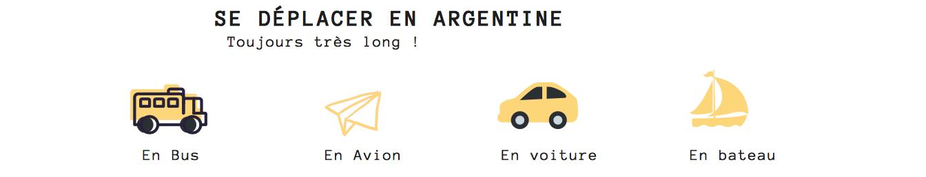 transport en argentine voyage