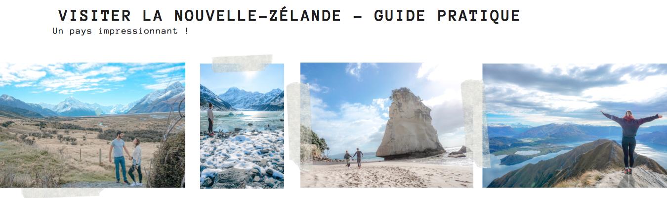 guide pratique visiter nouvelle zélande nord sud road trip