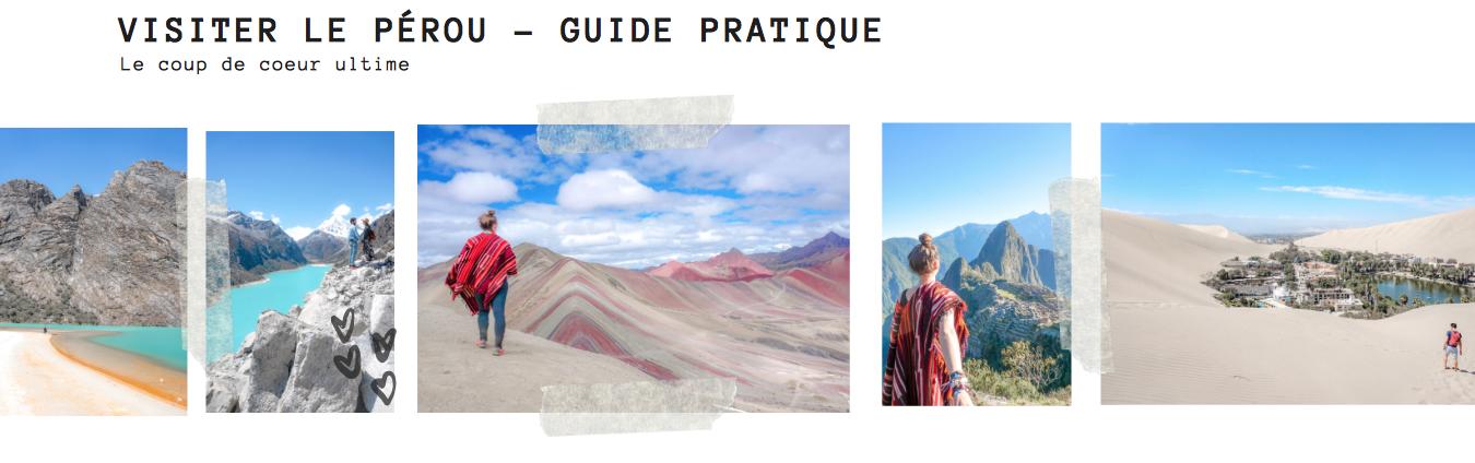 guide pratique du pérou